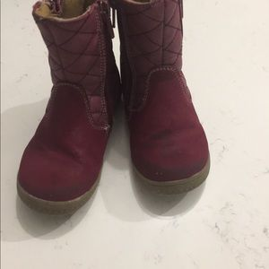 Other - Girls red snow/rain boots